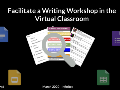 Facilitate a Writing Workshop